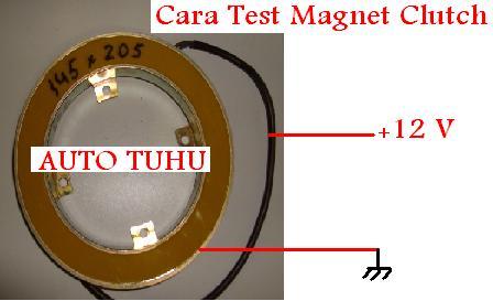 Magnet Clutch Compressor merupakan magnet buatan dengan memanfaatkan